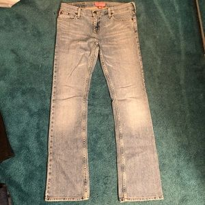 Hollister skinny boot jeans